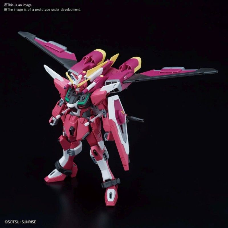 BANDAI HIGH GRADE HGCE GUNDAM INFINITE JUSTICE 1/144 MODEL KIT FIGURE