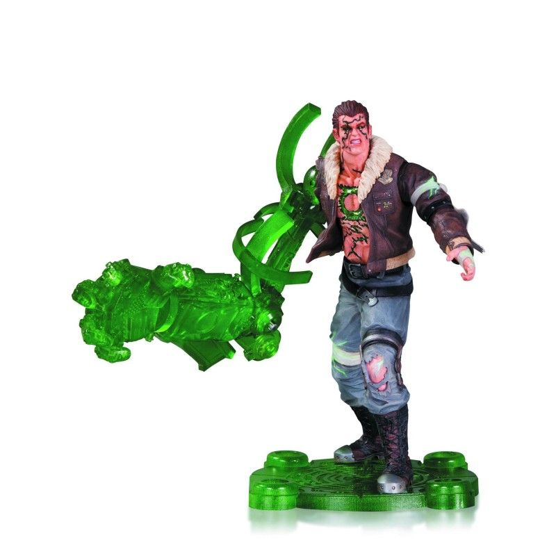 DC COMICS INFINITE CRISIS - ATOMIC GREEN LANTERN ACTION FIGURE DC COLLECTIBLES