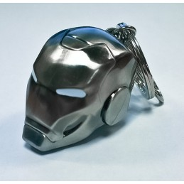 IRON MAN MARK 2 HELMET KEYRING PORTACHIAVI IN METALLO SEMIC