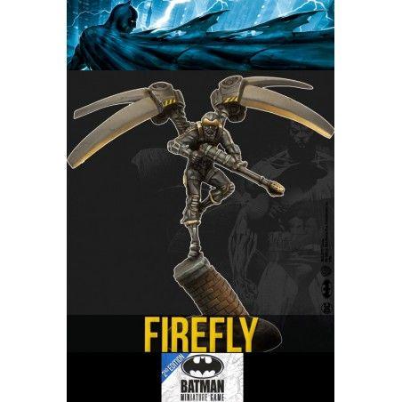 BATMAN MINIATURE GAME - FIREFLY MINI RESIN STATUE FIGURE
