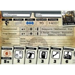 KNIGHT MODELS BATMAN MINIATURE GAME - FIREFLY MINI RESIN STATUE FIGURE