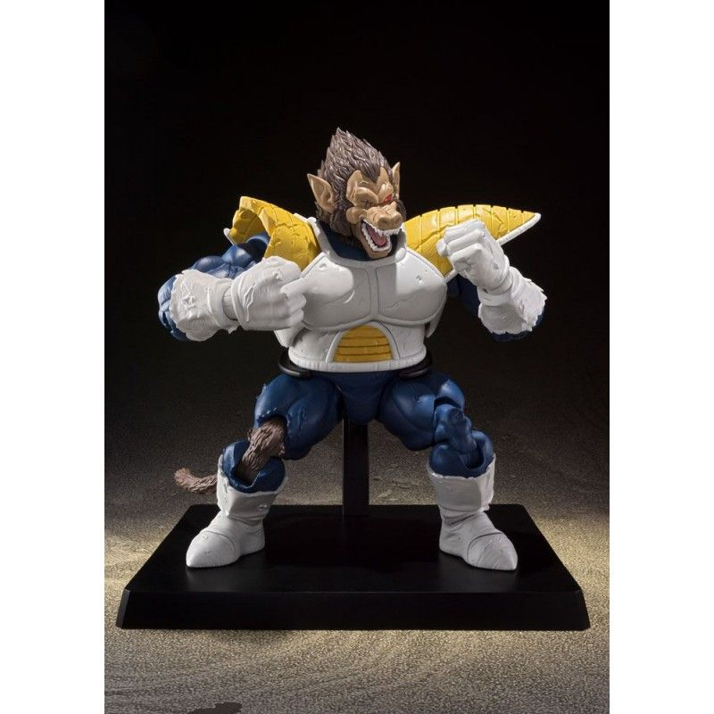 DRAGON BALL Z GREAT APE VEGETA S.H. FIGUARTS WEB EXCLUSIVE ACTION FIGURE BANDAI