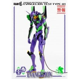 THREEZERO NEON GENESIS EVANGELION NEW THEATRICAL EDITION EVA 01 TEST TYPE 25CM ACTION FIGURE