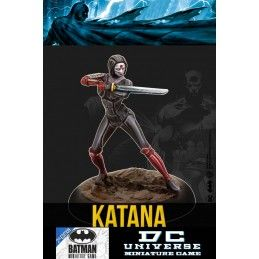 BATMAN MINIATURE GAME - KATANA MINI RESIN STATUE FIGURE KNIGHT MODELS