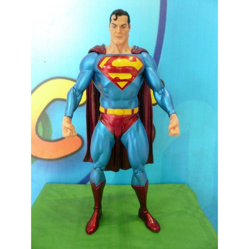 DC COLLECTIBLES ALEX ROSS JUSTICE LEAGUE - SUPERMAN ACTION FIGURE (NO BLISTER)