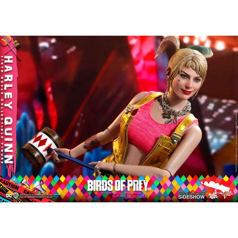 HOT TOYS BIRDS OF PREY - HARLEY QUINN MASTERPIECE 1/6 30CM ACTION FIGURE