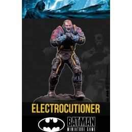 BATMAN MINIATURE GAME - ELECTROCUTIONER MINI RESIN STATUE FIGURE KNIGHT MODELS