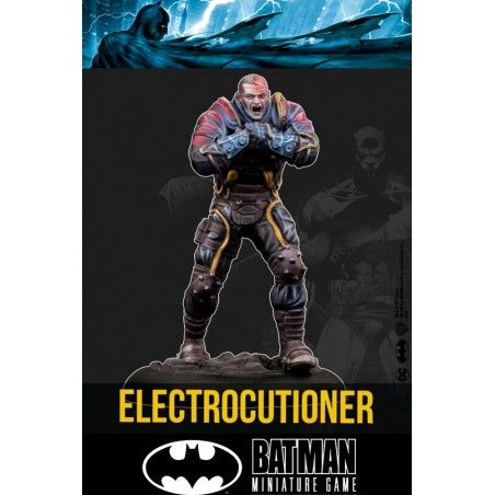 BATMAN MINIATURE GAME - ELECTROCUTIONER MINI RESIN STATUE FIGURE