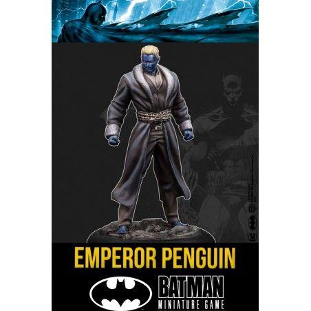 BATMAN MINIATURE GAME - EMPEROR PENGUIN MINI RESIN STATUE FIGURE