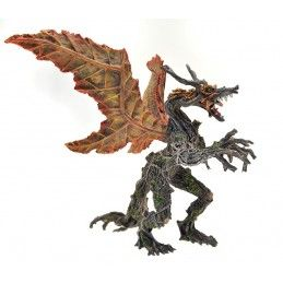 DRAGONS SERIES - AUTUMN LEAF DRAGON ACTION FIGURE PLASTOY