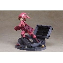 ANIPLEX SWORD ART ONLINE - LLENN SUDDEN ATTACK ALTERNATIVE GUN GALE 18CM STATUE FIGURE