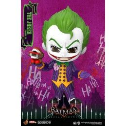 BATMAN ARKHAM KNIGHT - THE JOKER COSBABY MINI FIGURE HOT TOYS