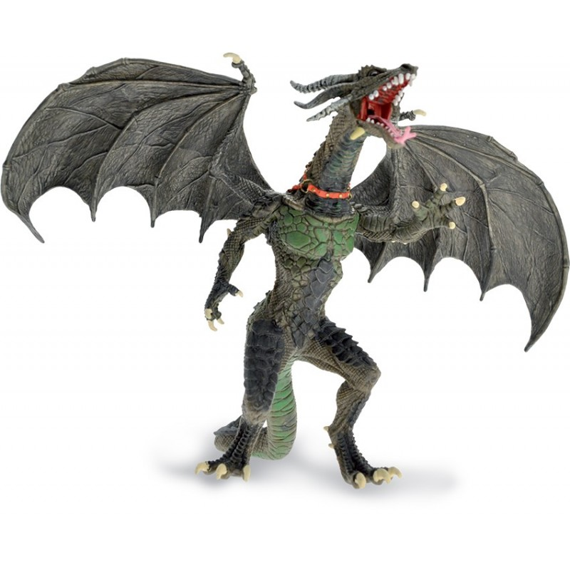 DRAGONS SERIES - BIG FLYING DRAGON ACTION FIGURE PLASTOY