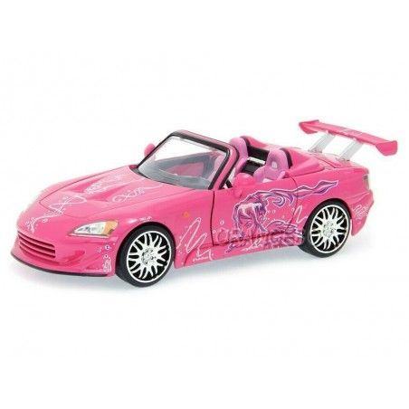FAST AND FURIOUS - DIE CAST METAL SUKI'S HONDA S2000 1/24 MODEL