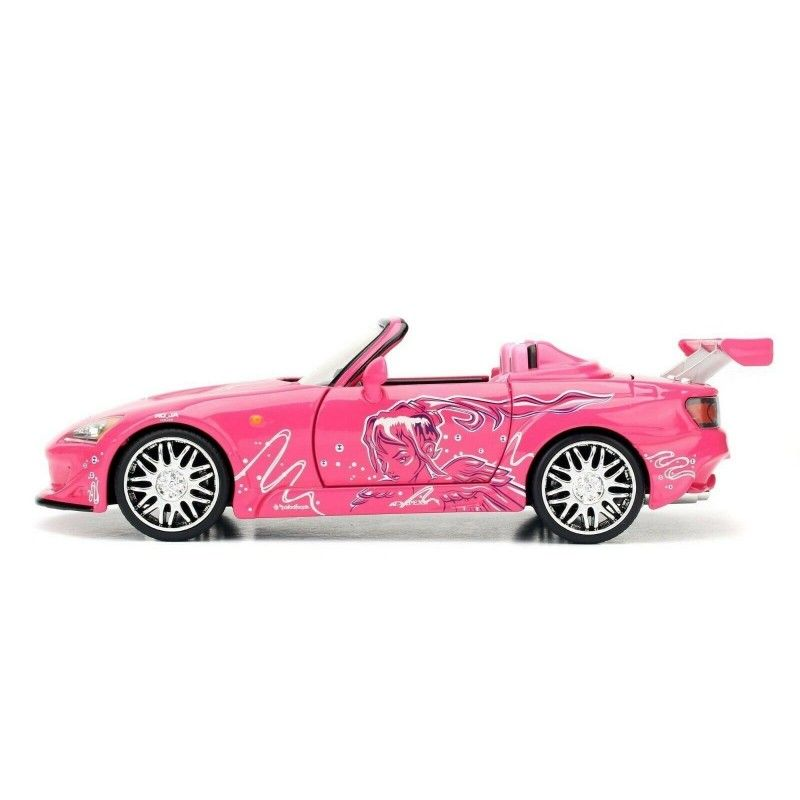 JADA TOYS FAST AND FURIOUS - DIE CAST METAL SUKI'S HONDA S2000 1/24 MODEL