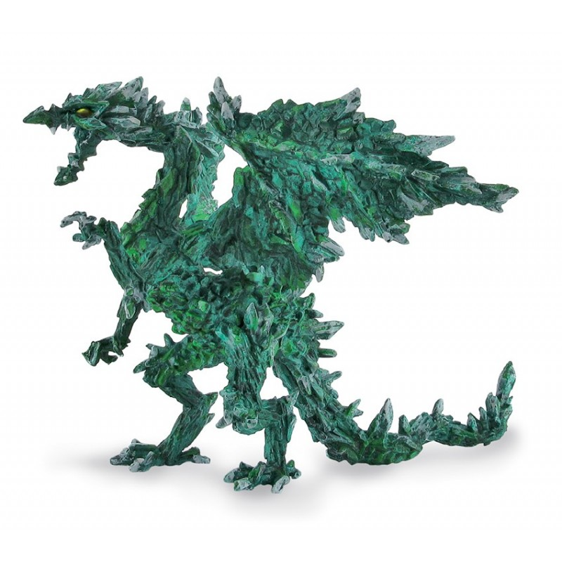 DRAGONS SERIES - EMERALD DRAGON ACTION FIGURE PLASTOY