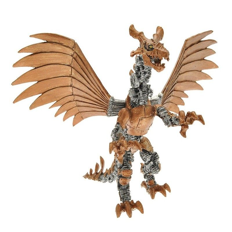 DRAGONS SERIES - MECHANICAL DRAGON ACTION FIGURE PLASTOY