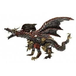 DRAGONS SERIES - METAL DRAGON ACTION FIGURE PLASTOY