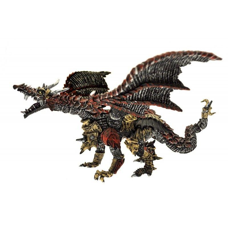 DRAGONS SERIES - METAL DRAGON ACTION FIGURE