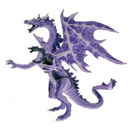 DRAGONS SERIES - MOTHER AND BABY DRAGON ACTION FIGURE PLASTOY