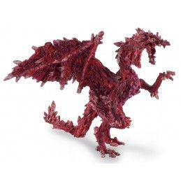 DRAGONS SERIES - RUBY DRAGON ACTION FIGURE PLASTOY