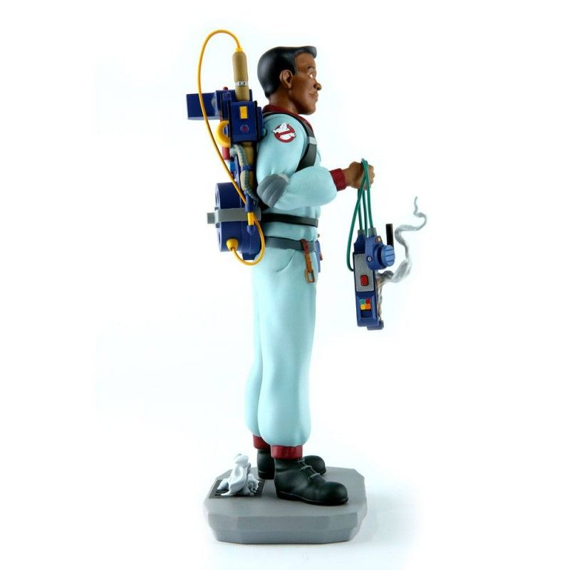 CHRONICLE COLLECTIBLES THE REAL GHOSTBUSTERS WINSTON ZEDDEMORE STATUE 25CM RESIN FIGURE