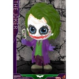 BATMAN THE DARK KNIGHT TRILOGY - THE JOKER COSBABY MINI FIGURE HOT TOYS