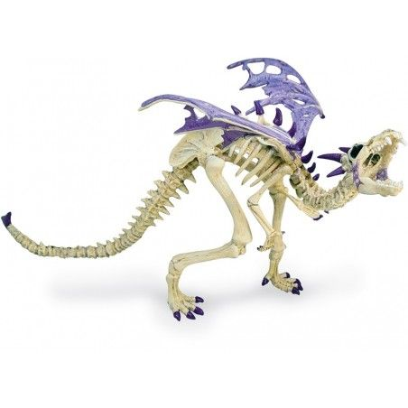 DRAGONS SERIES - VIOLET SKELETON DRAGON ACTION FIGURE