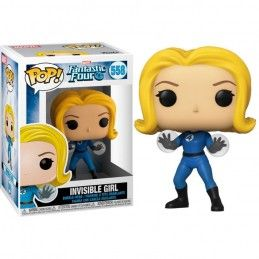 FUNKO POP! MARVEL FANTASTIC FOUR - INVISIBLE GIRL BOBBLE HEAD FIGURE FUNKO