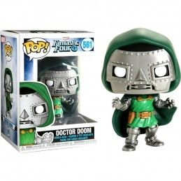 FUNKO POP! MARVEL FANTASTIC FOUR - DOCTOR DOOM BOBBLE HEAD FIGURE FUNKO