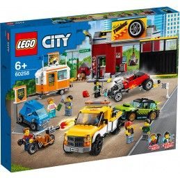 LEGO CITY - TURBO WHEELS AUTOFFICINA 60258