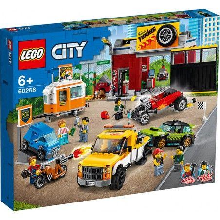LEGO CITY - TURBO WHEELS AUTOFFICINA 60258