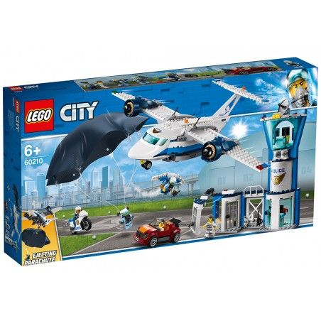 LEGO CITY POLICE - BASE POLIZIA AEREA 60210