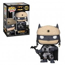 FUNKO POP! BATMAN 80 YEARS - BATMAN RED SON BOBBLE HEAD FIGURE FUNKO
