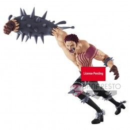 ONE PIECE BATTLE RECORD POSING SERIES - CHARLOTTE KATAKURI PVC STATUE 27CM FIGURE BANPRESTO