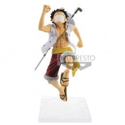 BANPRESTO ONE PIECE A PIECE OF DREAM - MONKEY D. LUFFY PVC STATUE 17CM FIGURE