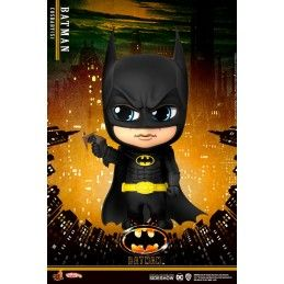BATMAN (1989) - BATMAN WITH GRAPPLING GUN COSBABY MINI FIGURE HOT TOYS
