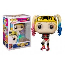 FUNKO FUNKO POP! BIRDS OF PREY - HARLEY QUINN ROLLER DERBY BOBBLE HEAD FIGURE