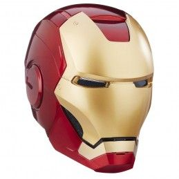 HASBRO MARVEL ELECTRONIC HELMET IRON MAN FULL SCALE CASCO 1/1