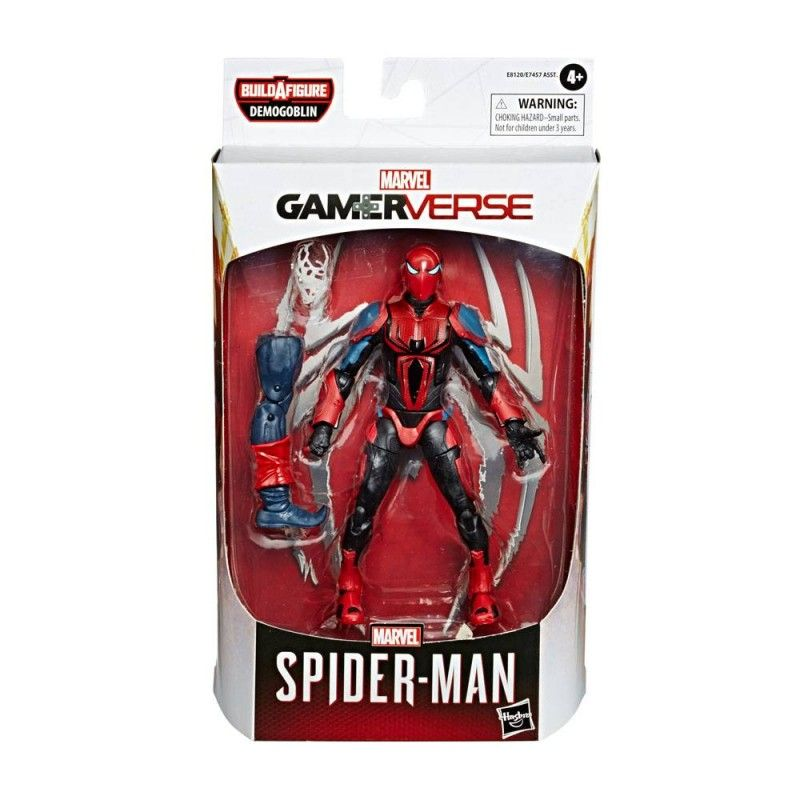 HASBRO MARVEL LEGENDS SERIES DEMOGOBLIN - SPIDER-ARMOR MARK III SPIDER-MAN ACTION FIGURE