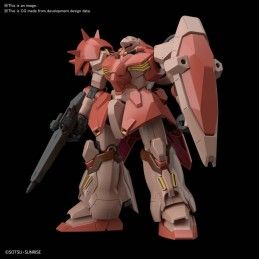 HIGH GRADE HGBDR GUNDAM MESSER 1/144 MODEL KIT ACTION FIGURE BANDAI