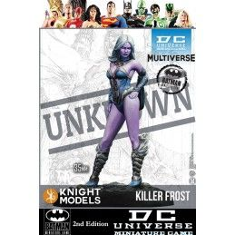 BATMAN MINIATURE GAME - KILLER FROST MINI RESIN STATUE FIGURE KNIGHT MODELS
