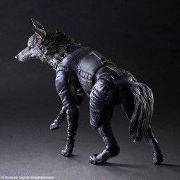 METAL GEAR SOLID V THE PHANTOM PAIN D-DOG PLAY ARTS KAI PAK ACTION FIGURE SQUARE ENIX