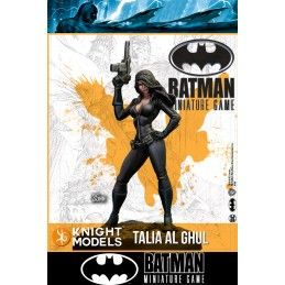 BATMAN MINIATURE GAME - TALIA AL GHUL MINI RESIN STATUE FIGURE KNIGHT MODELS