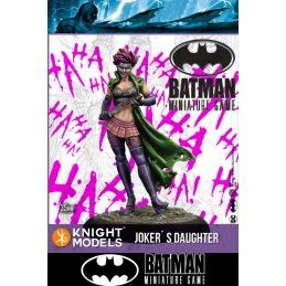 BATMAN MINIATURE GAME - JOKER'S DAUGHTER MINI RESIN STATUE FIGURE KNIGHT MODELS