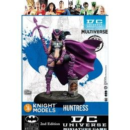 BATMAN MINIATURE GAME - HUNTRESS MINI RESIN STATUE FIGURE KNIGHT MODELS