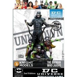 KNIGHT MODELS BATMAN MINIATURE GAME - THE BATMAN WHO LAUGHS MINI RESIN STATUE FIGURE