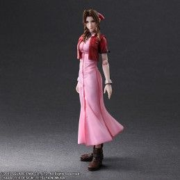 SQUARE ENIX FINAL FANTASY VII CRISIS CORE - AERITH GAINSBOROUGH PLAY ARTS KAI ACTION FIGURE