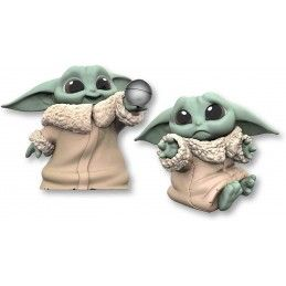 STAR WARS THE MANDALORIAN - THE CHILD BABY YODA DON'T LEAVE AND BALL TOY 2-PACK ACTION FIGURE HASBRO