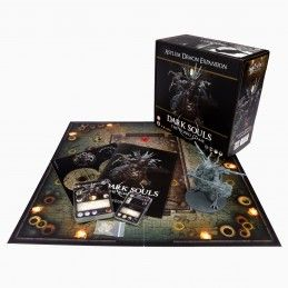 STEAMFORGED GAMES DARK SOULS THE BOARD GAME ASYLUM DEMON ESPANSIONE GIOCO DA TAVOLO